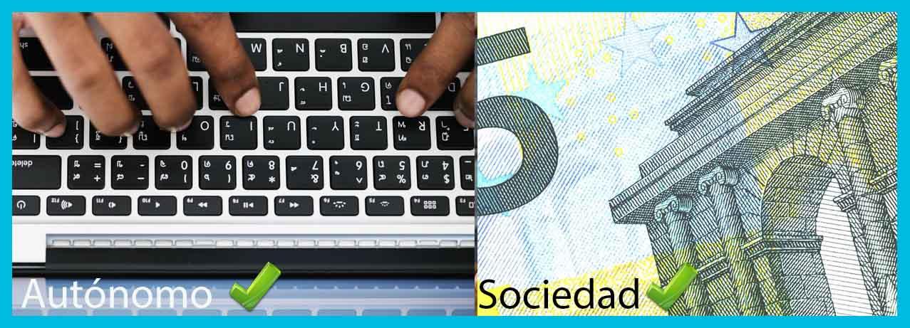 autónomo o sociedad